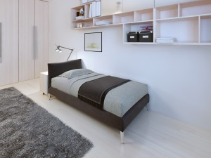 Teenagers bedroom modern style